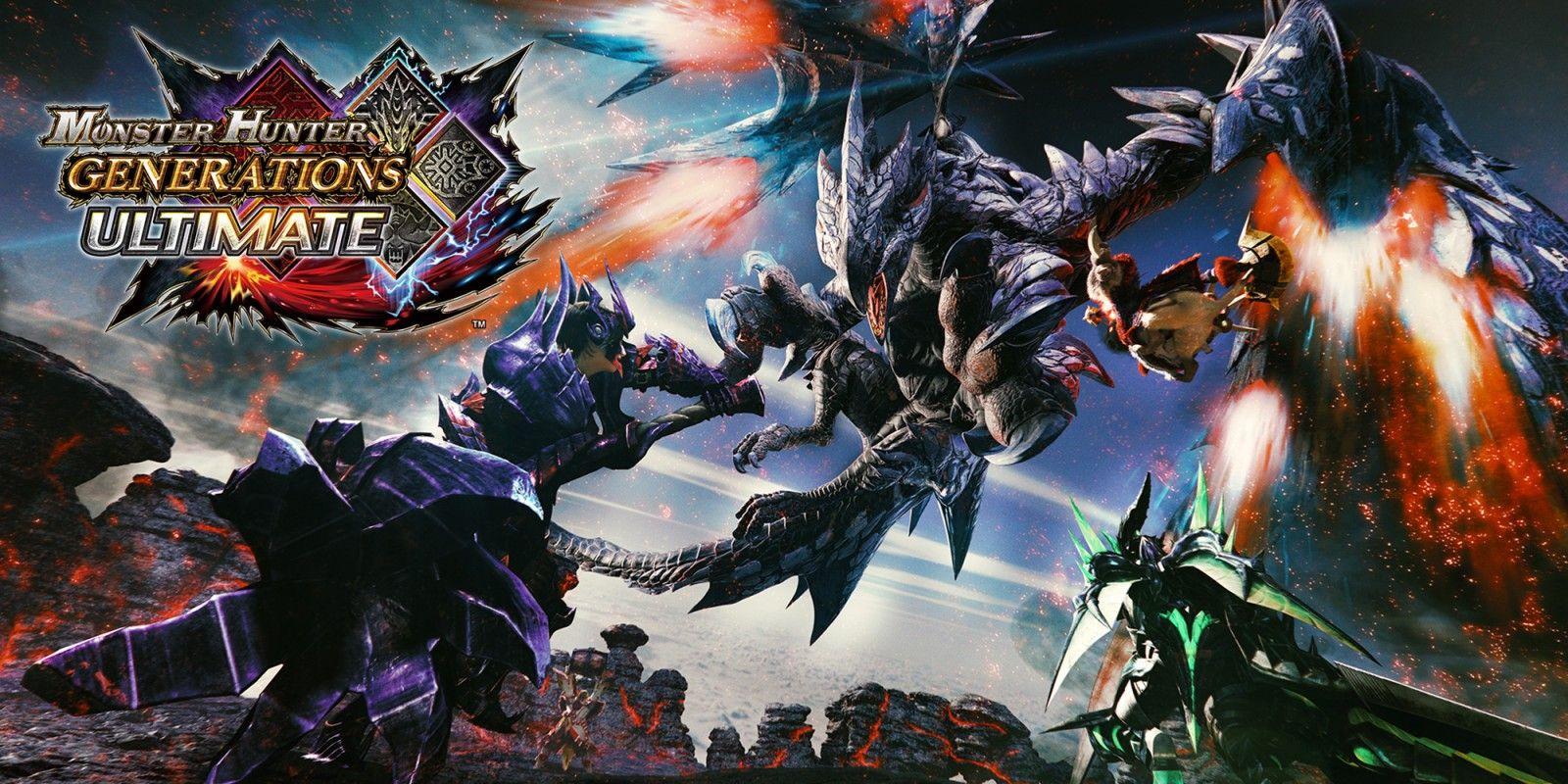 Monster Hunter Generations Ultimate (Switch) a 25€ Nintendo eShop