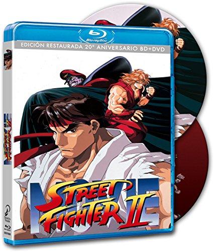Street Fighter 2 Anime Bluray