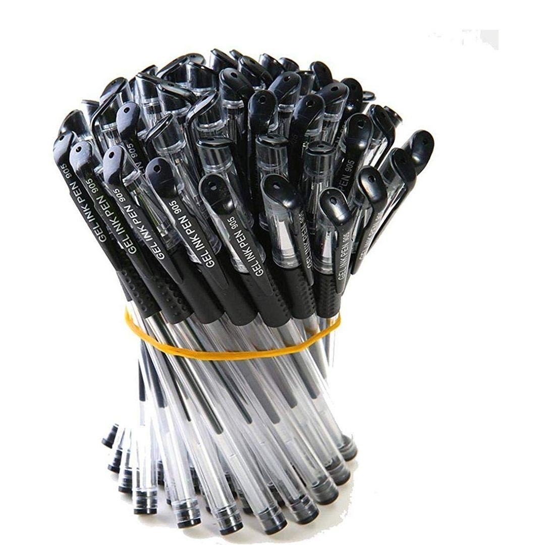 MINI PRECIO 10 bolígrafos de gel negro/ Neutral Pen 0.5mm Carbon Pen