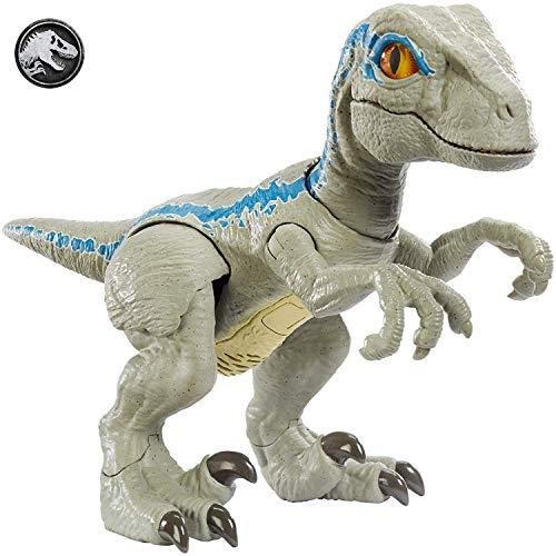 Jurassic World Baby Blue Dino Velociraptor - Dinosaurio de juguete