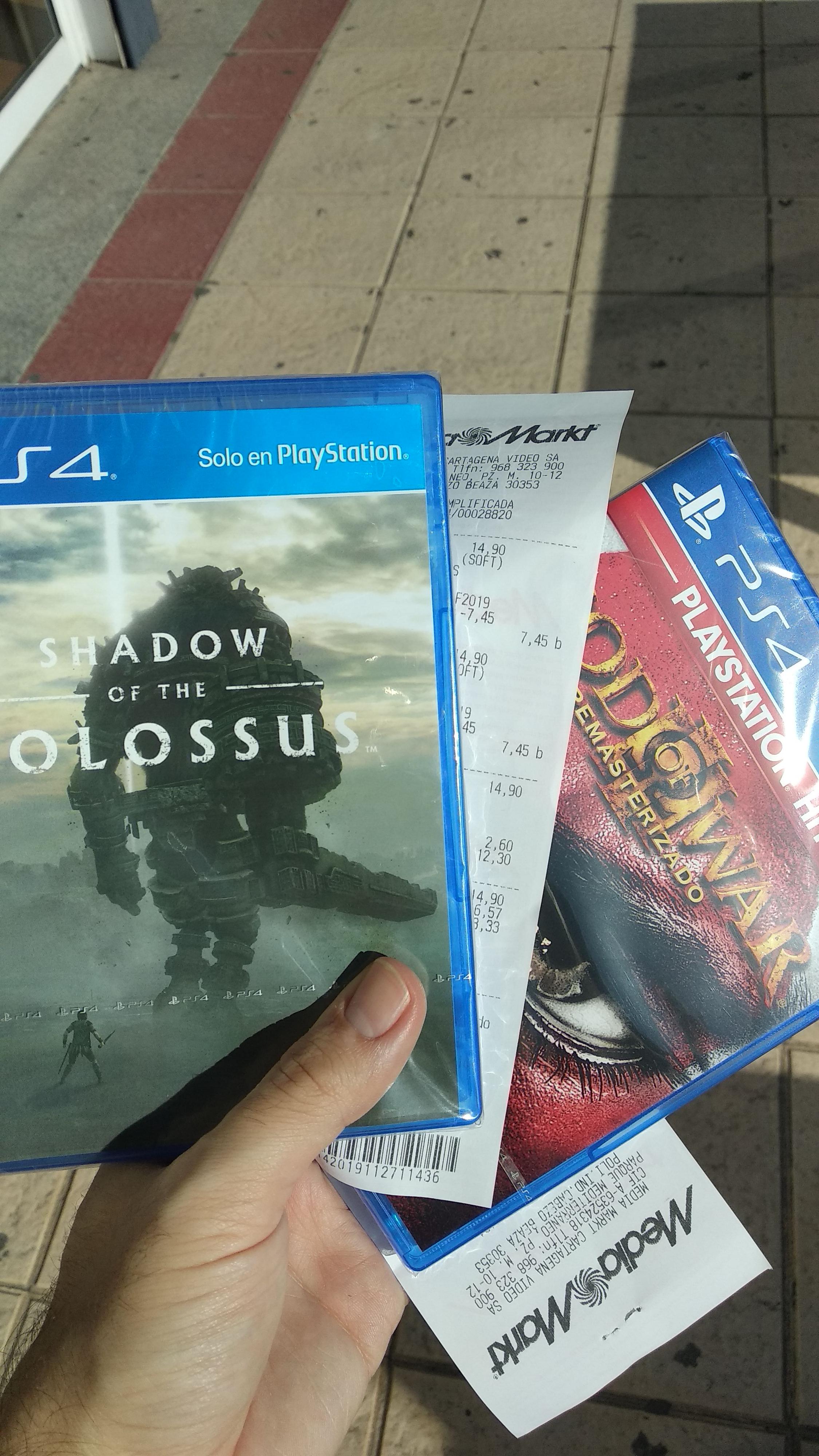 50% Videojuegos PS4 y BlueRay