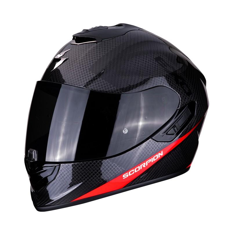 Scorpion Exo-1400 Air Carbon Pure Casco de moto S, M y L Motos Soria (Madrid) C/ Ronda de Atocha, 7