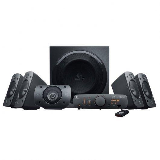 Logitech Z906 - Altavoces estéreo, sonido envolvente Dolby 5.1 3D, THX, 500 W PcComponentes