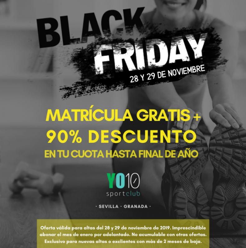 BLACKFRIDAY YO10 SPORTCLUB