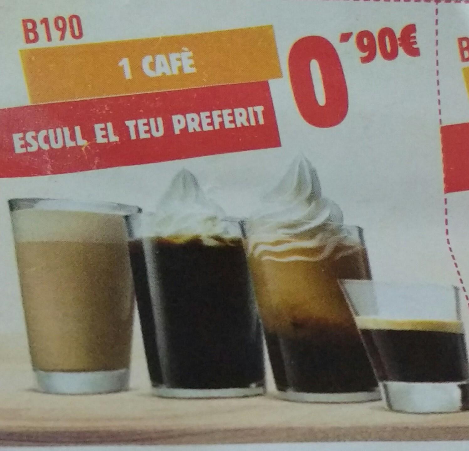 Elige tu café preferido burguer King