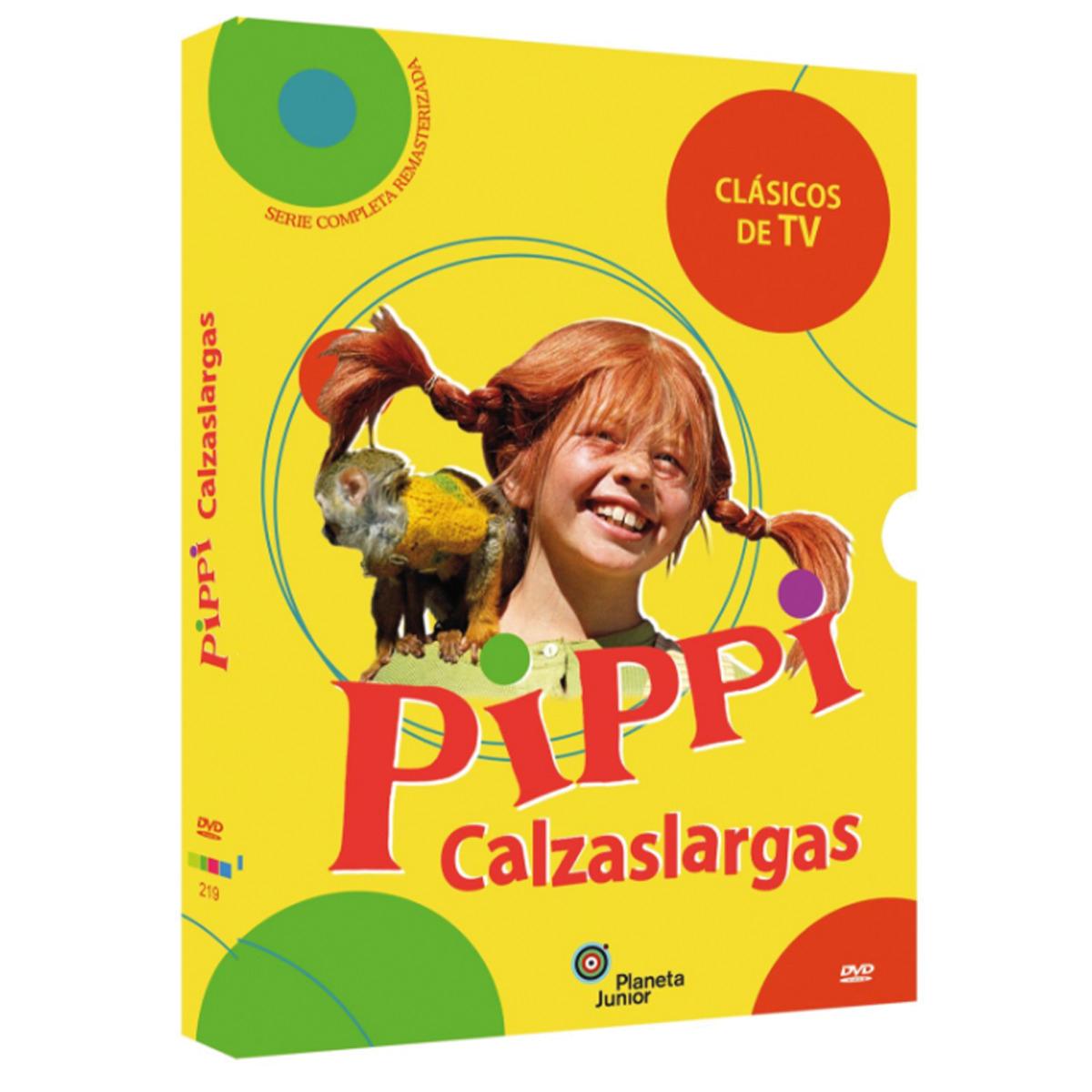 Pack Pippi Calzaslargas. La serie completa (DVD)