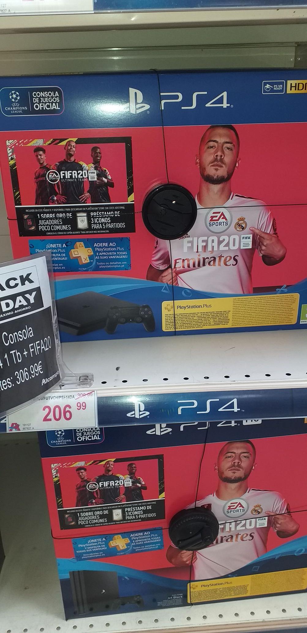 Playstation PS4 1t+fifa20