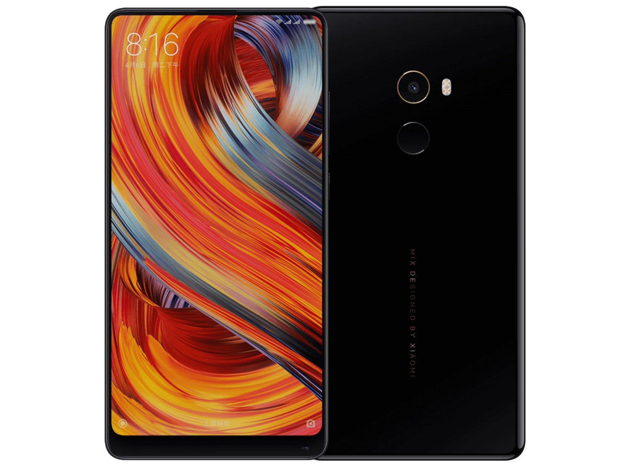 Smartphone XIAOMI Mix 2 Special Edition (5.9'' - 8 GB - 128 GB - Negro)