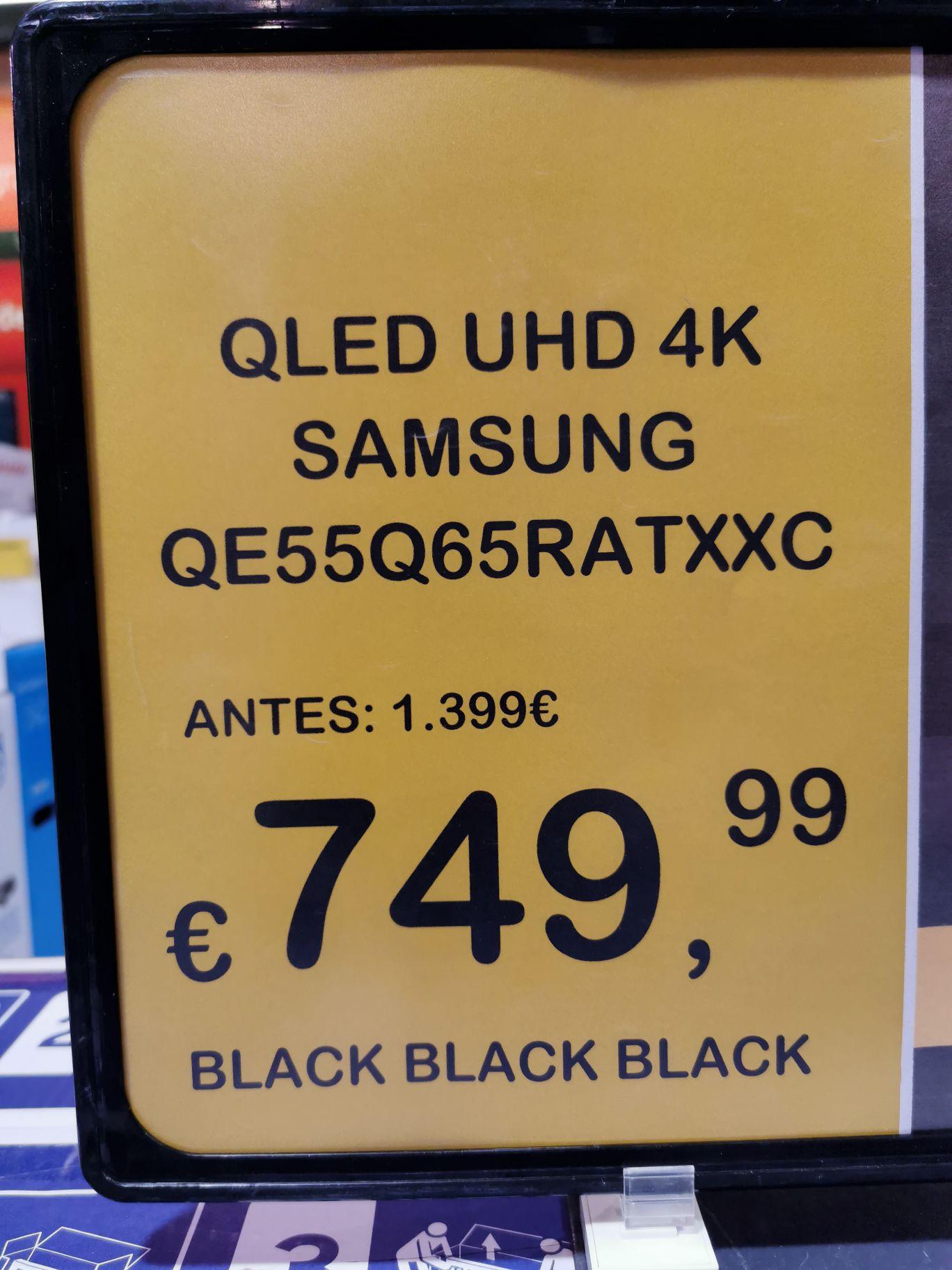 """Televisor Samsung de 55"""" 4K QLED QE55Q65RATXXC"""