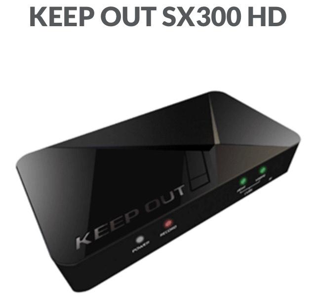 Capturadora Keep Out SX300 HD