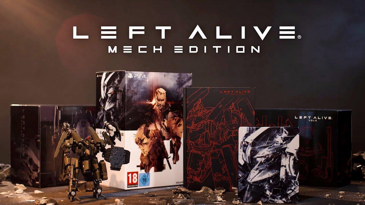 LEFT ALIVE - MECH EDITION [PS4]