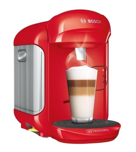 Cafetera Multibebida TASSIMO Vivy 2 TAS1403 Roja