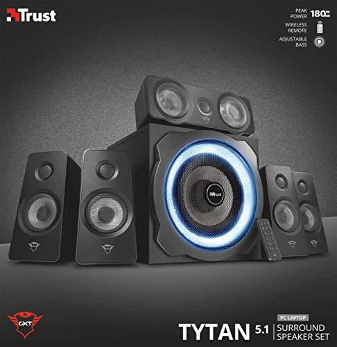 Trust Tytan GXT 658 - Sistema de Altavoces 5.1