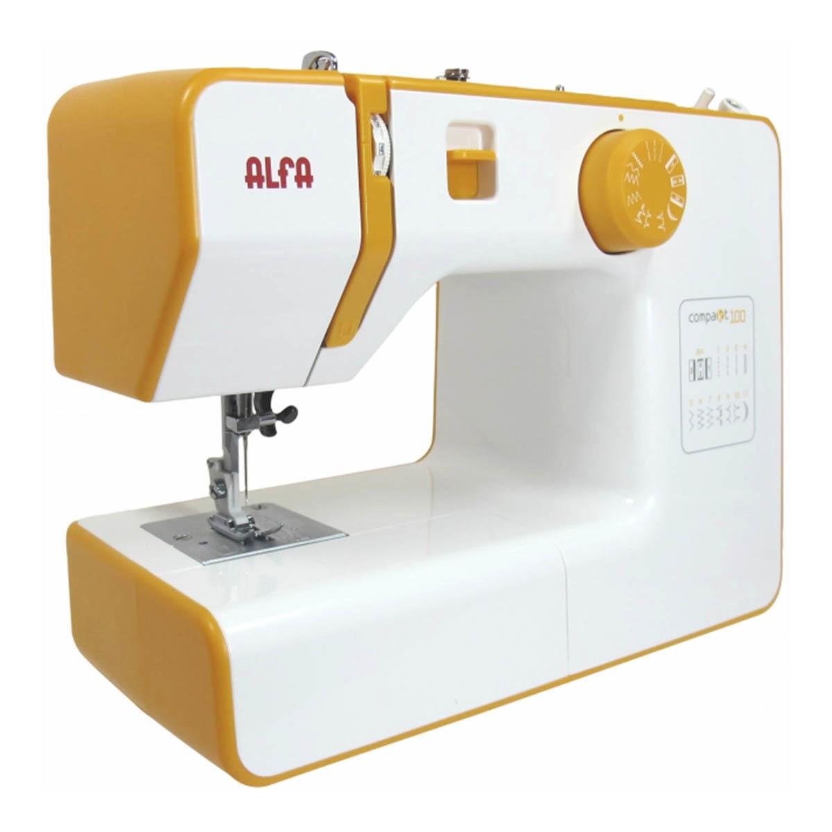Máquina de coser Alfa Compakt 100 de brazo libre
