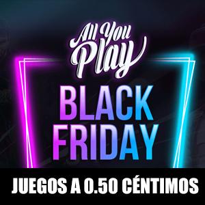 Blackfriday, Juegos Steam tan solo 50 céntimos (Allyouplay)