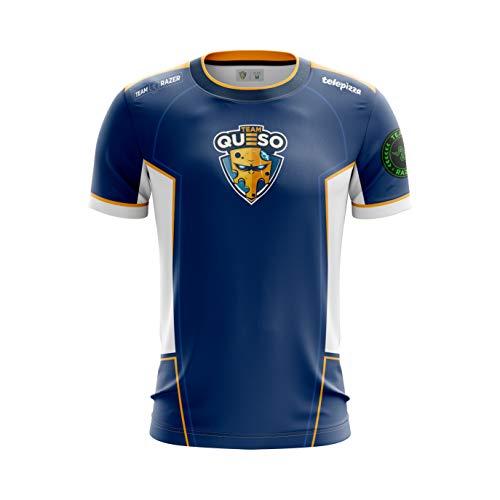 Camiseta Oficial Team Queso 17€ talla L