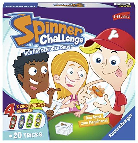Juego de mesa spinner challenge producto plus