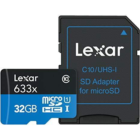 Lexar 633x 32GB MicroSDHC UHS-I