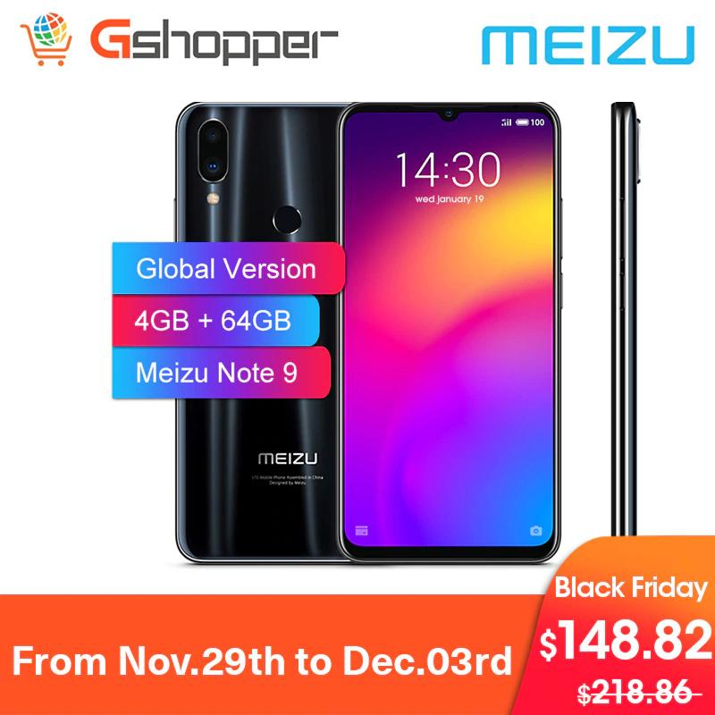 Meizu Note9 4GB RAM 64GB ROM Version Global