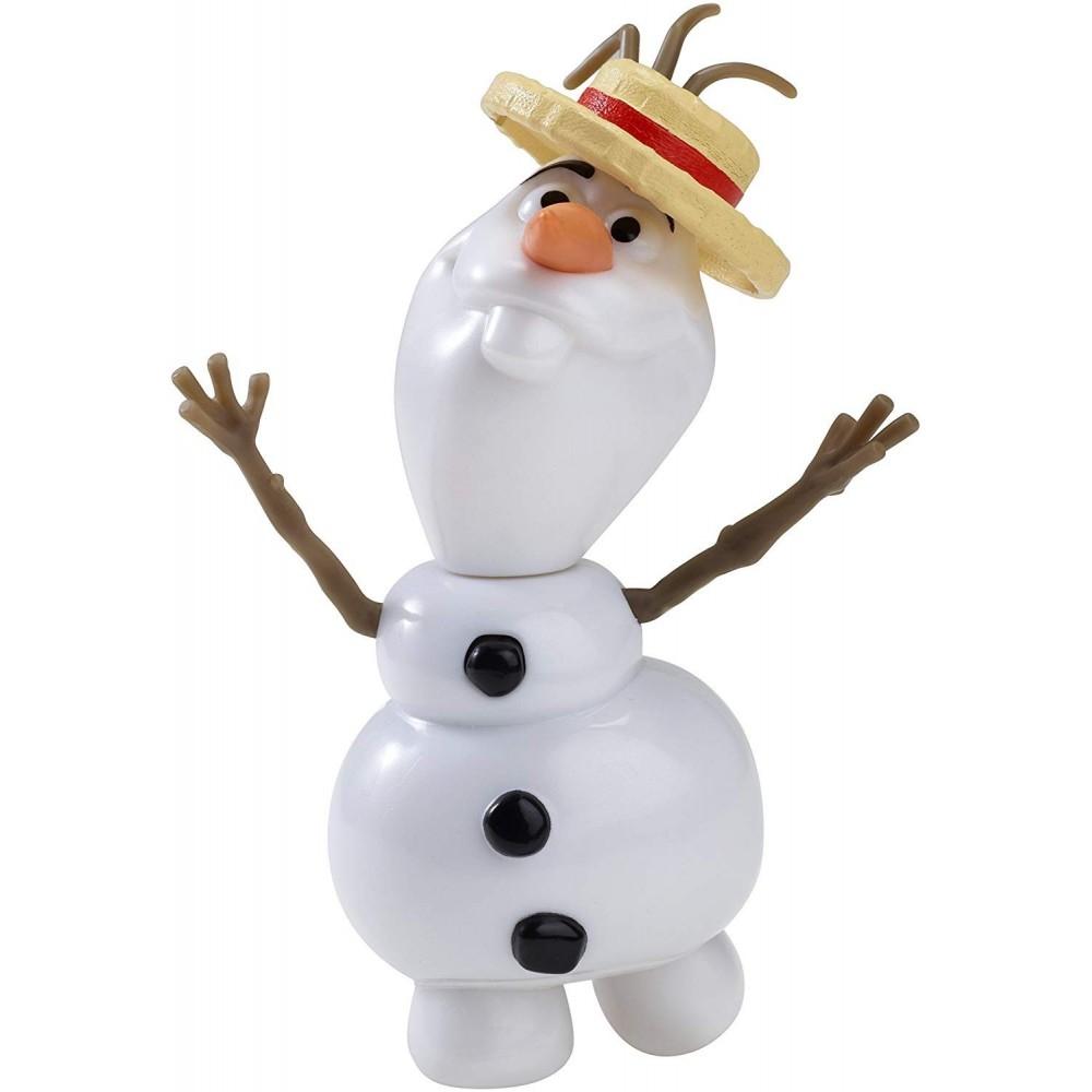 Mattel Disney Frozen Olaf Cantarín Verano Figura musical