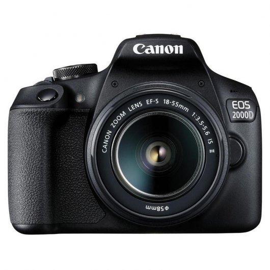 Canon EOS 2000D 24.1MP WiFi + EF-S 18-55mm F3.5-5.6 IS II