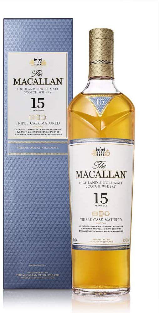 Macallan 15 años Triple Cask 700ml
