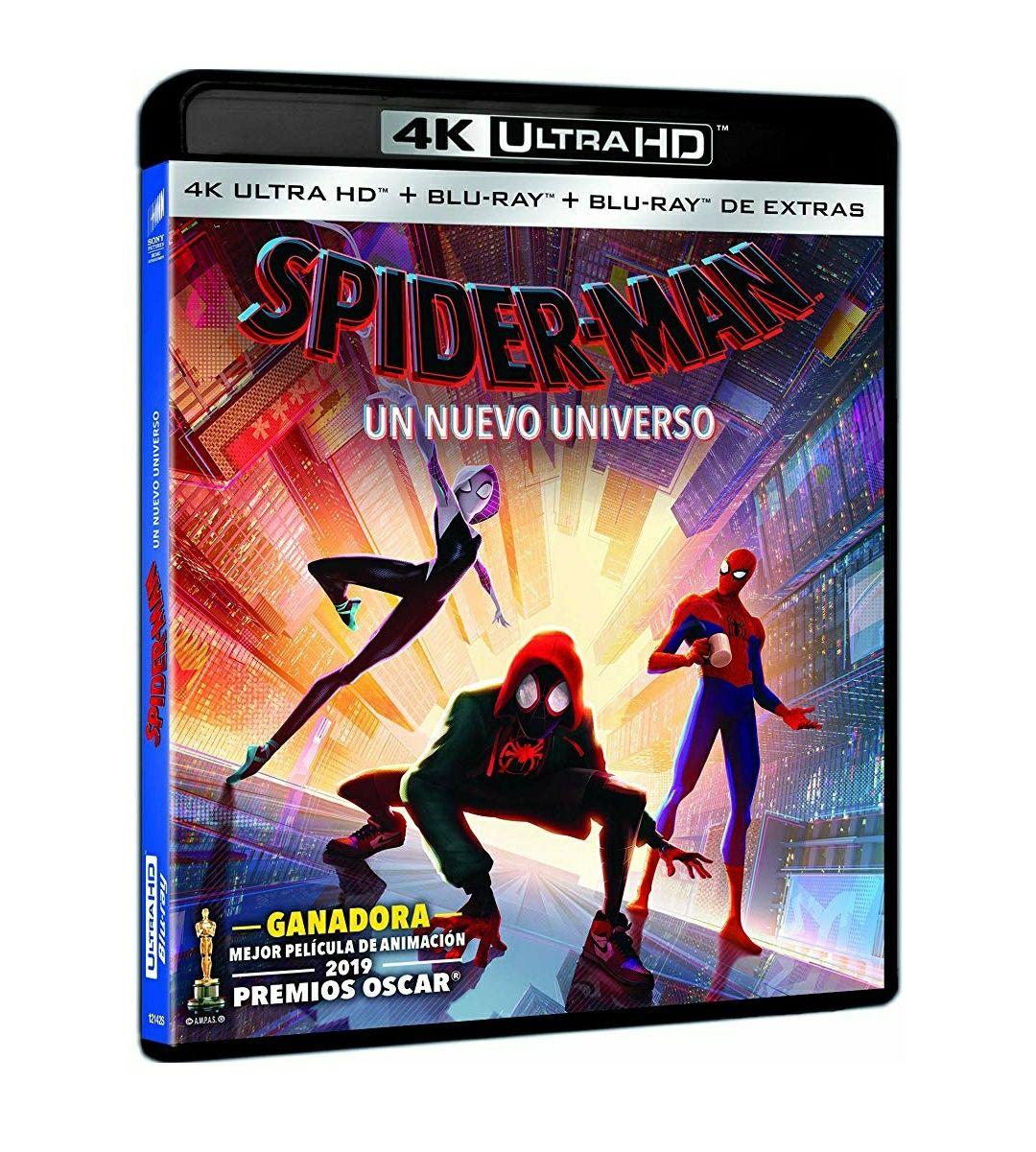 Spiderman: Un nuevo universo 4K Blu-Ray