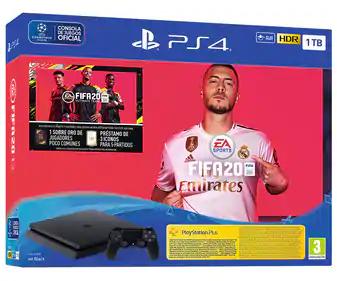 Playstation 4 Slim con disco duro de 1TB mas juego FIFA 20, SONY.