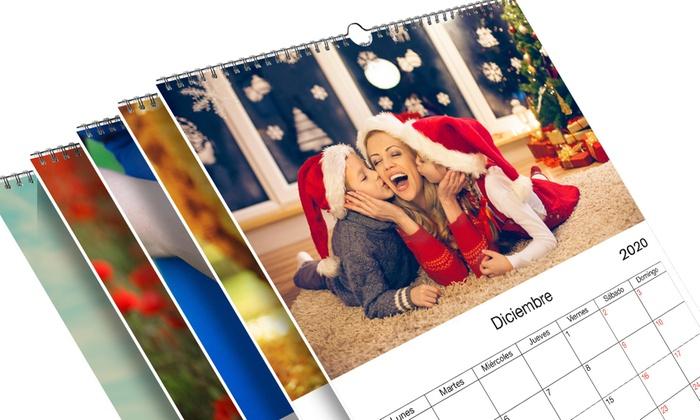 Calendarios 2020 de pared personalizados