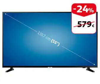 """Televisión 55"""" LED SAMSUNG 55RU7025 4K SMART TV"""
