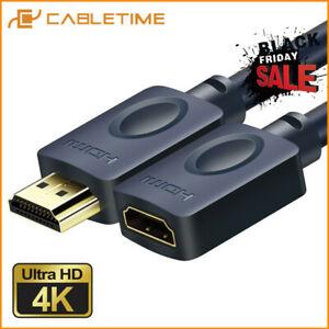 Cabletime - Alargador cable HDMI