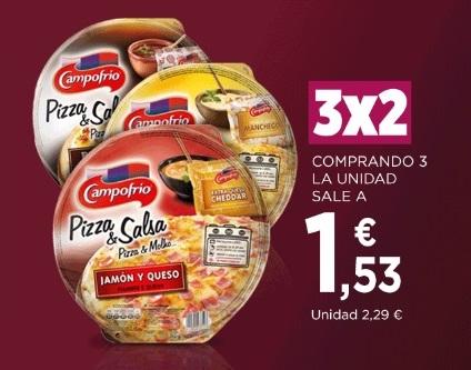 Supermercados El Corte Inglés: 3x2 / -70% en 2ª unidad