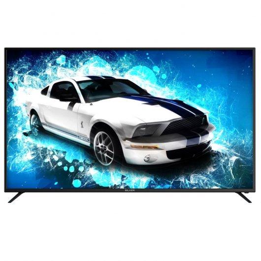 """Tv Silver 65"""" LED UltraHD 4K Smart Tv"""
