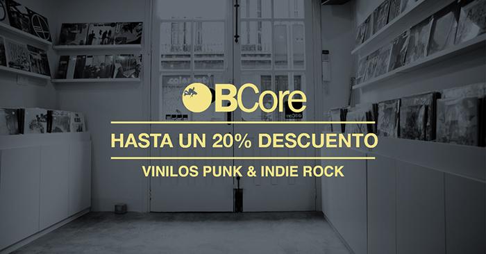 Black Friday musical en BCore. 20% en nuevos y segunda mano