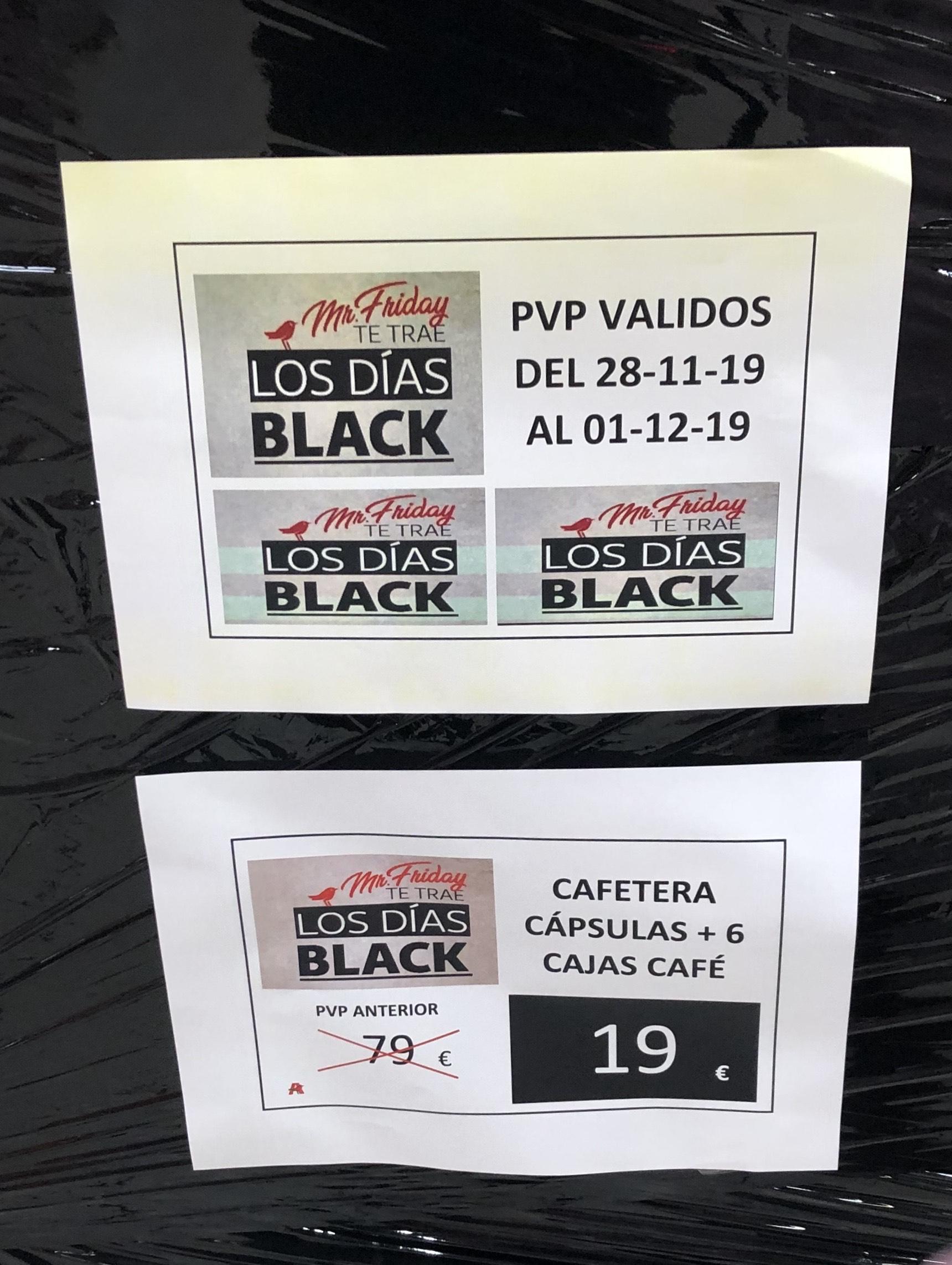 Cafetera Dolce Gusto Piccolo + 6 cajas Café 19€