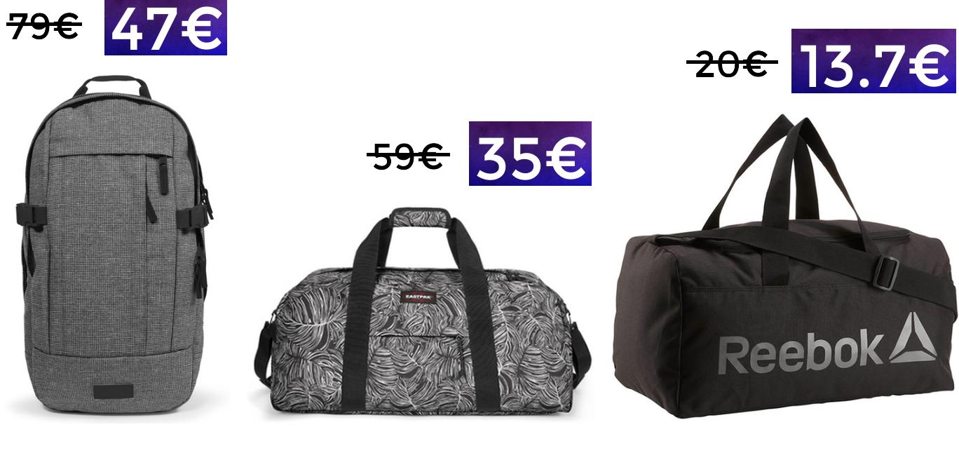 Hasta 40% en mochilas y bolsas deportivas