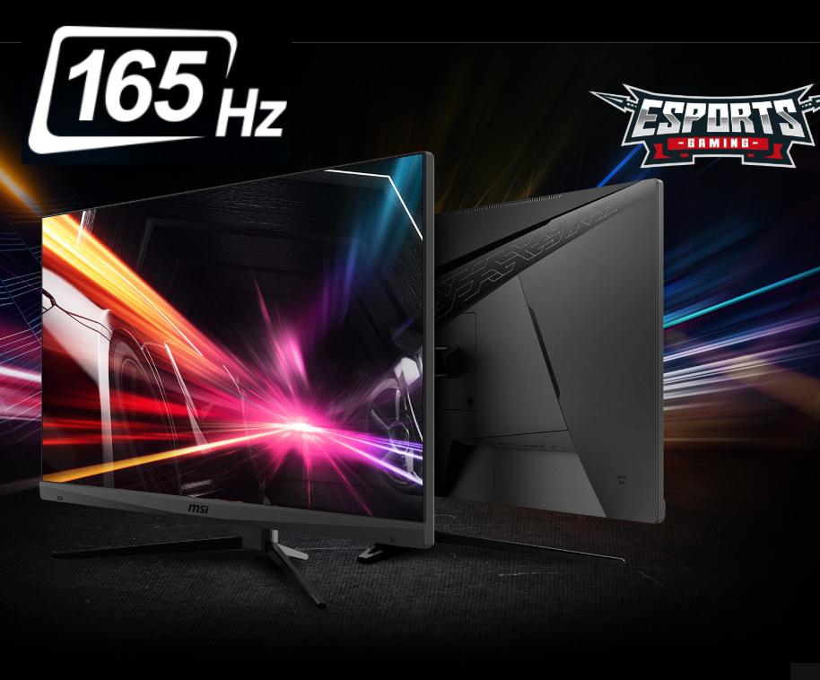 """MSI Optix MAG272 27"""" LED FullHD 165Hz 1ms FreeSync VA HDR - DisplayPort/HDMI/USB-C - USB 2.0 hub"""