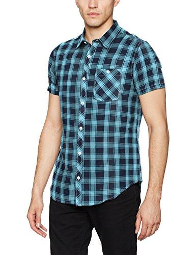 TALLA M - BILLABONG All Day Check Short Sleeve Camisa, Hombre