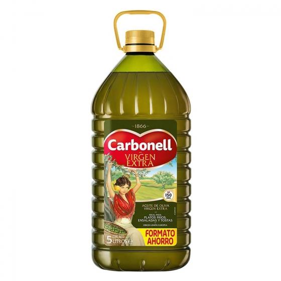 Aceite EXTRA VIRGEN Carbonell 5L (E.Leclerc)