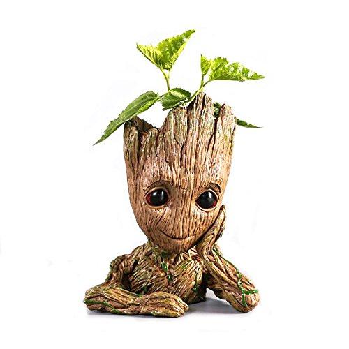 Florero con forma de Groot