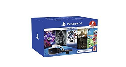 Megapack Sony PS4 VR 2 + 5 Juegos