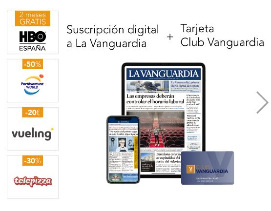 """Suscripción """"La Vanguardia Digital"""" 2 Primeros Meses 0€"""