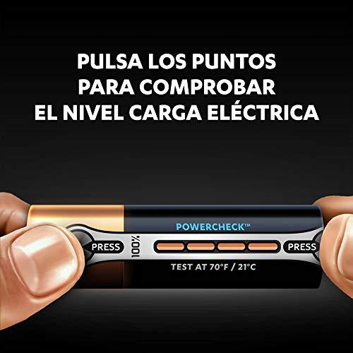 Pack 12 pilas Duracell - Ultra AA con Powerchek