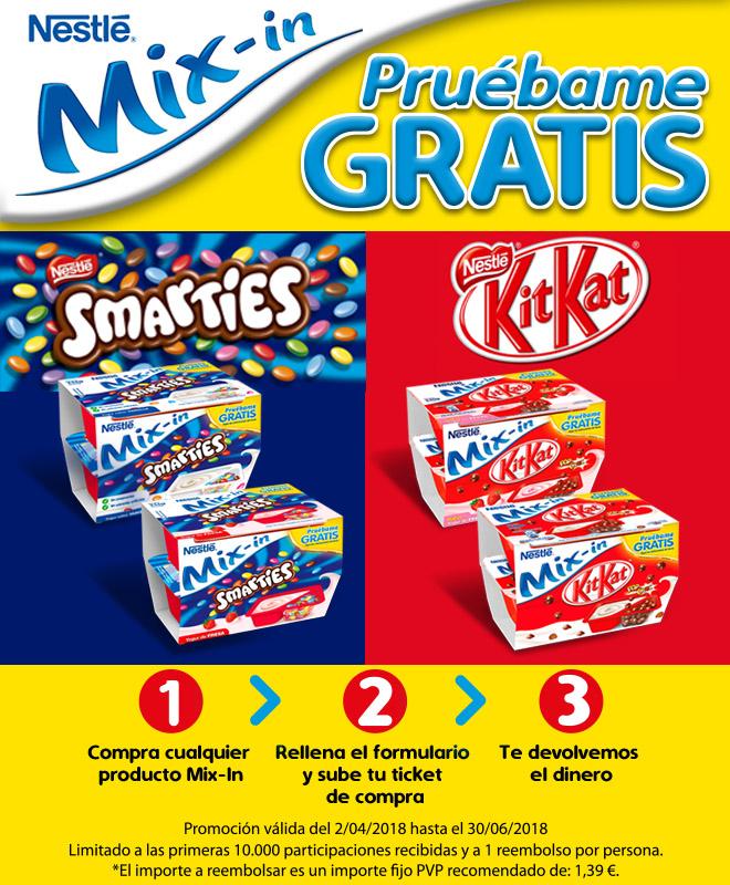 GRATIS Postre KitKat Smarties [REEMBOLSO]
