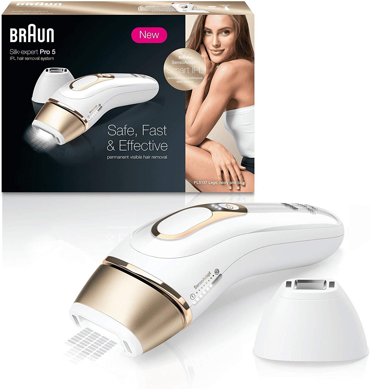 Braun Silk·Expert Pro 5 PL5137 Depiladora Luz Pulsada IPL
