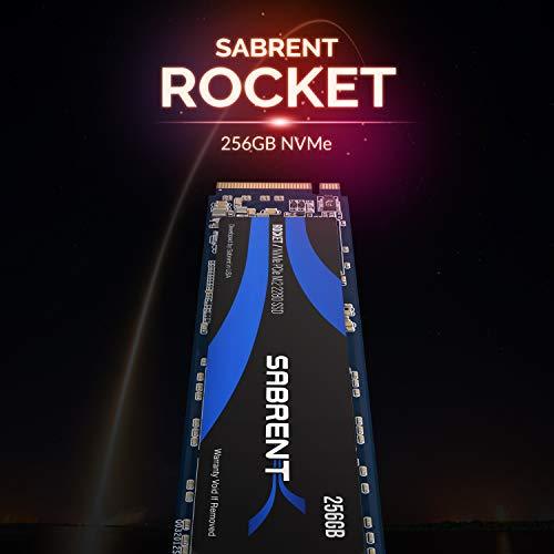 Sabrent 256GB Rocket NVMe PCIe M.2 2280 SSD
