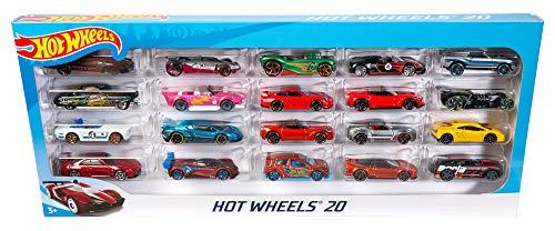 Packs de 20 coches Hot Wheels por 20,99€