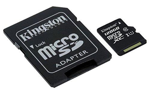 Kingston 128Gb con Adaptador SD
