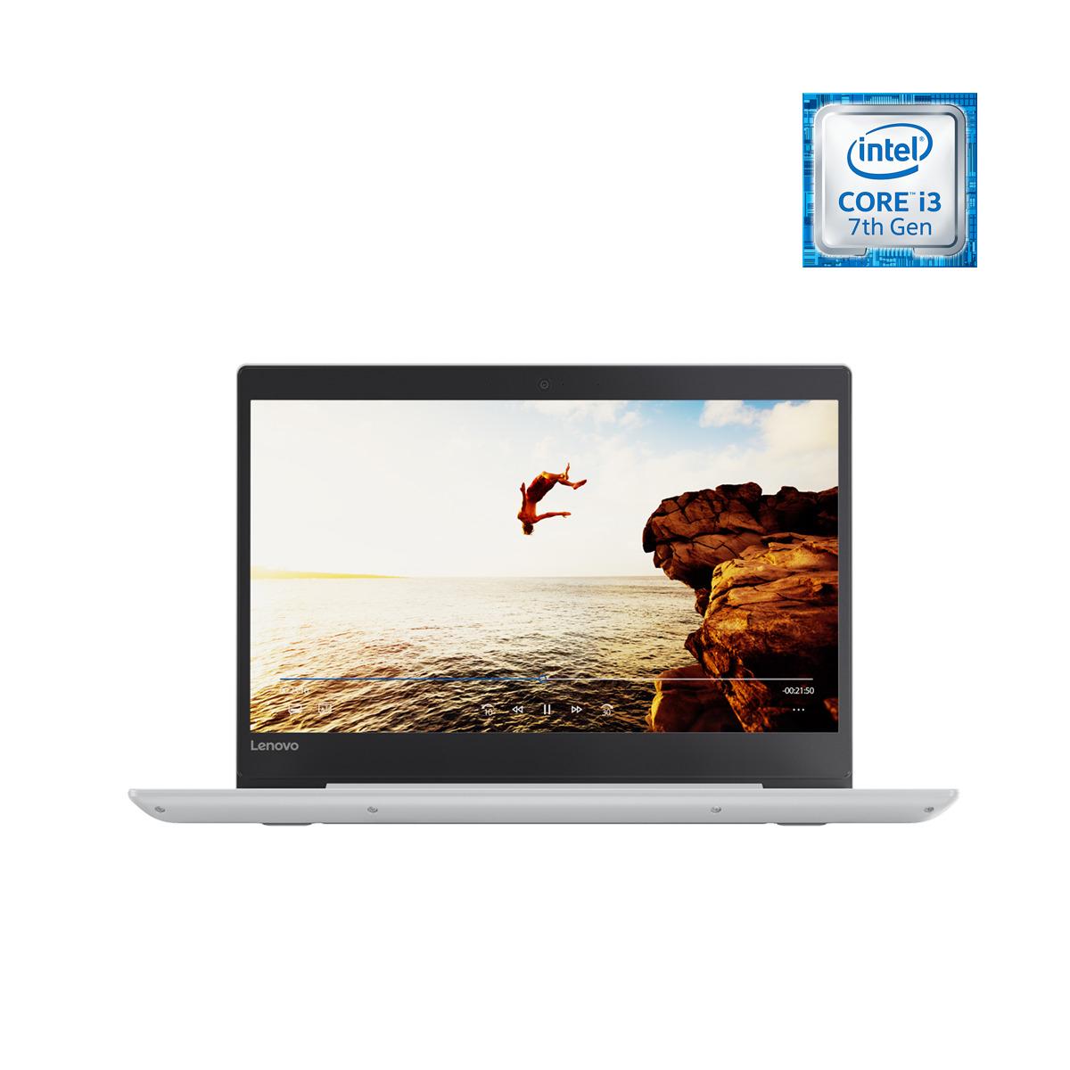 Portátil Lenovo Ideapad 320S-14 (Reacondicionado casi a estrenar), i3, 8 GB, 128 GB SSD, Blanco nieve