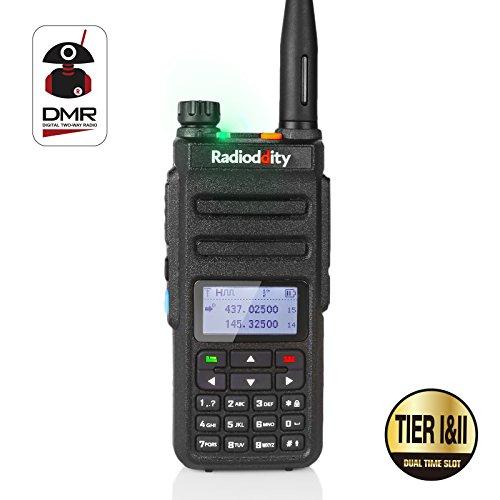 Walkie DMR bibanda Radioddity GD-77